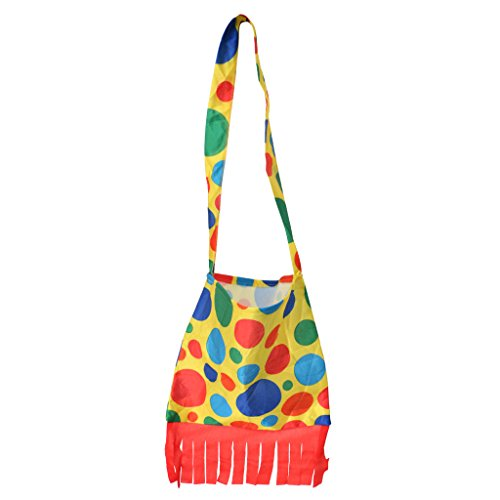 MagiDeal Polka Dot Clown Tasche Fancy Dress Halloween Karneval Clown Kostüm (Dot Clown Kostüme Polka)