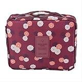 WYHH Aufbewahrungsbox Tasche Reißverschluss Tragbare Make Up Beauty Case Organizer Aufbewahrungstasche Container Aufbewahrungsbox16,5 cm X 21 cm X 7 cm
