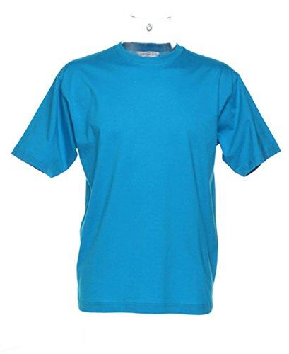 Kustom Kit Herren Poloshirt Blau - Türkis