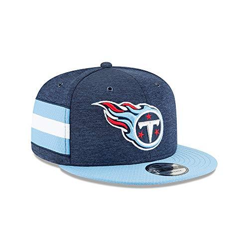 New Era NFL Tennessee Titans Authentic 2018 Sideline 9FIFTY Snapback Home Cap, Größe :S/M - Titan Bekleidung