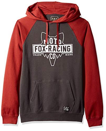 Fox Herren Flathead Pull Over Fleece Kapuzenpulli, Black Vintage, Mittel -