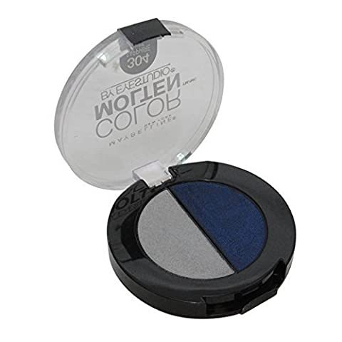 ONLY 1 IN PACK Maybelline Eye Studio Color Fusion Molten Cream Eye Shadow, 304 Sapphire Mist by Maybelline