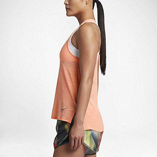 Nike donna respirare Cool Tank top 832 Sunset Glow