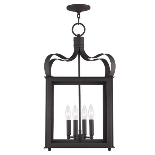 Livex Lighting 4314-07 Garfield 4-Light Foyer, Bronze by Livex Lighting -