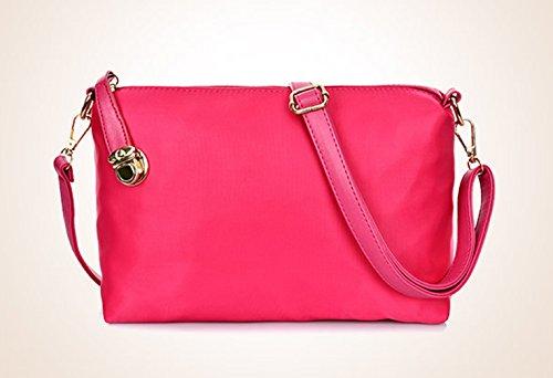Keshi Nylon Cool Damen Handtaschen, Hobo-Bags, Schultertaschen, Beutel, Beuteltaschen, Trend-Bags, Velours, Veloursleder, Wildleder, Tasche Schwarz