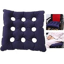 Cojín inflable de Air asiento de aire almohadilla inflable antiescaras Cojín de aire Silla de ruedas