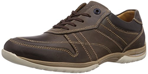 Fretz Men Racer, Derbies à lacets homme Marron - Braun (59 mokka)
