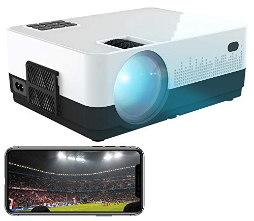 SceneLights Projector: LED-LCD-Beamer mit WLAN, Mediaplayer, 1280 x 720 (HD), 2.000 lm, 12 W (Beamer HDMI)