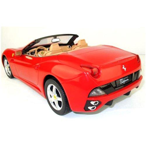 RC Auto kaufen Rennwagen Bild 2: Ferrari California Cabrio - RC ferngesteuertes Lizenz-Fahrzeug im Original-Design, Modell-Maßstab 1:12, Ready-to-Drive, Auto inkl. Fernsteuerung, Neu*