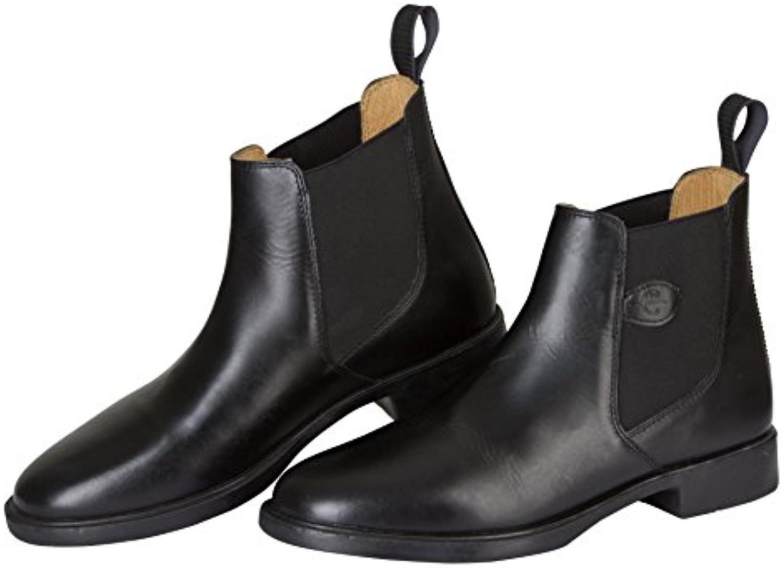 Kerbl Reitstiefelette Classic - Polainas/chaparreras de hípica, color negro, talla 38  -
