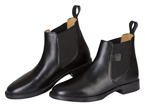 Kerbl Covalliero Leder Classic Reitstiefelette, schwarz, Gr. 36