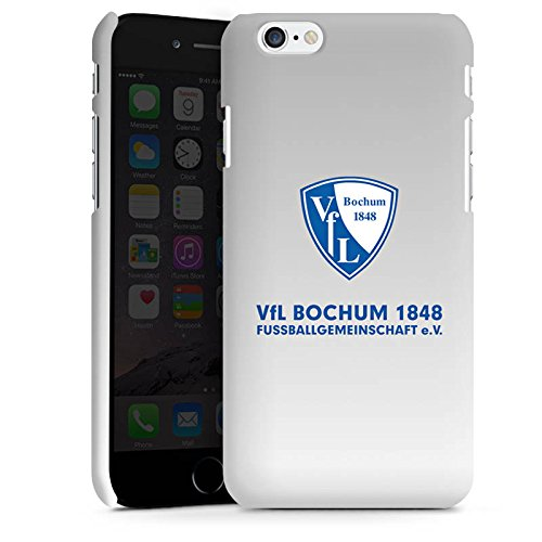 Apple iPhone 6 Silikon Hülle Case Schutzhülle VfL Bochum Fanartikel Bundesliga Premium Case matt