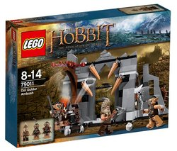 Preisvergleich Produktbild LEGO LofTR and Hobbit - Dol Guldur Ambush 79011 [KLOCKI]