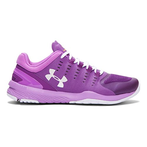 Under Armour Charged Stunner Women's Scarpe Da Corsa - SS16 viola/rosa