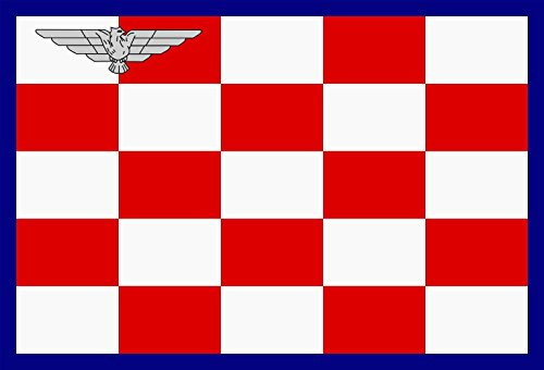 magFlags Flagge: Large Air Force of The Independent State of Croatia | Zra?nih snaga NDH | Querformat Fahne | 1.35m² | 90x150cm » Fahne 100% Made in Germany (Air Stadt 1 Force)