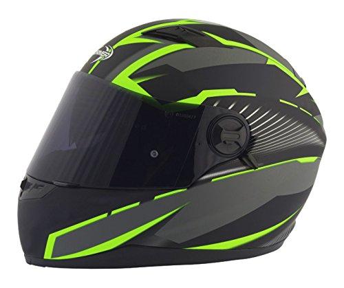 Stormer Casco Integrale Pusher Xenon Verde Opaco Dimensioni decorativo verde opaco, taglia S