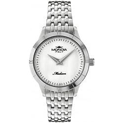 Reloj Mondia Mujer Cuarzo ACC. Q. blanco Mop I. BR.Metal