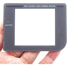 Display Scheibe Nintendo Gameboy Classic Ersatz Austausch Sichtscheibe aus Plastik in der Farbe Grau