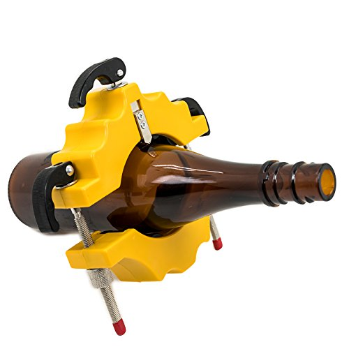 Weinflaschen-Schneide-Set / Glas-Schneide-Werkzeug / Flaschen-Schneide-Maschine, ein Werkzeug, um Gläser einfach punktgenau zu schneiden, Gelb