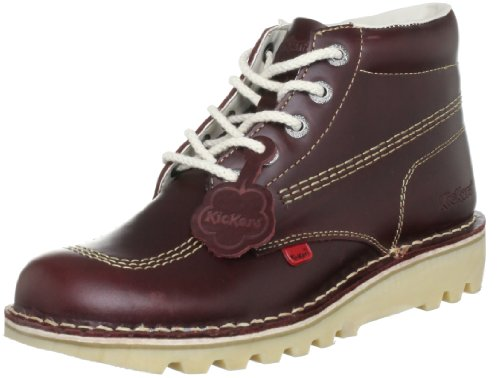 Kickers Men's Kick Hi M Core Lthr Am Dk Boots, Red, 8...