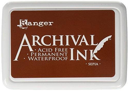 Ranger Sepia Archivierung Ink Pad, braun Sepia Archival Ink Stempelkissen, Braun braun -