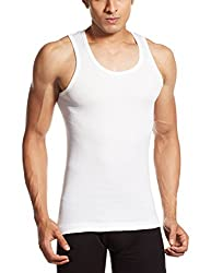 Euro Mens Cotton Vest (890397840126) (CLASIC VST(W)RN White 75)