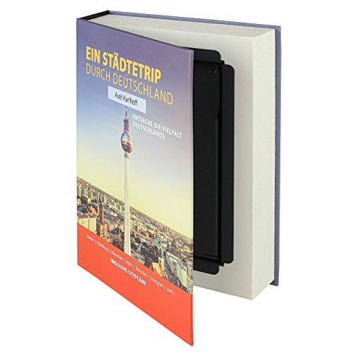 HMF 80915 caja fuerte en forma de libro, caja de caudales camuflada,...