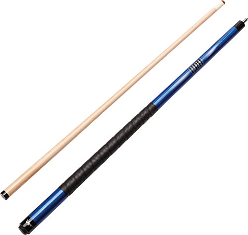 Viper Revolution Sure Grip Pro 147,3 cm 2-teilig Billard/Pool Queue, blaumetallic (Welle Billard Queue)