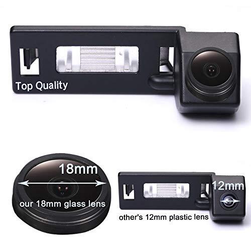 Navinio Auto Nachtsicht Rückfahrkamera Einparkkamera Kamera Einparkhilfe Farbkamera Rückfahrsystem Einparkkamera Wasserdicht für Audi A3 S3 A4 S4 A5 A6 A6L S6 A8 Q7 A8L S6 A1 S5 Cabriolet TT Q5