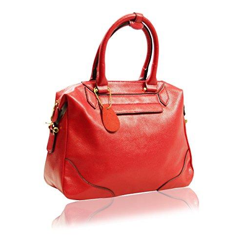 Handbag Krazy ,  Damen Tasche Feuerwehrrot