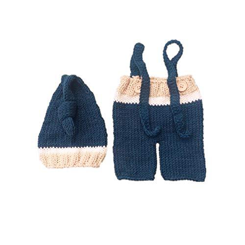 NROCF Schlafende Cutie, Neugeborenes Baby Mädchen/Junge häkeln Kostüm Foto Fotografie Prop Hüte Outfits, Halloween-Kostüm (Häkeln Baby Halloween Kostüme)