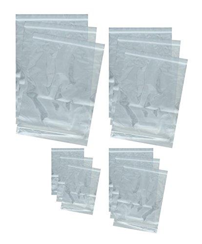 web-tex Heavy Duty Reseable Poly bag set–12pezzi