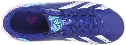 adidas F5 TRX FG J Unisex-Kinder Fußballschuhe Blau (DRKBLU/RUNWHT/VIVPNK)