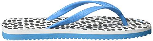flip*flop - Flip*dots, Infradito Donna Mehrfarbig (neon aqua)