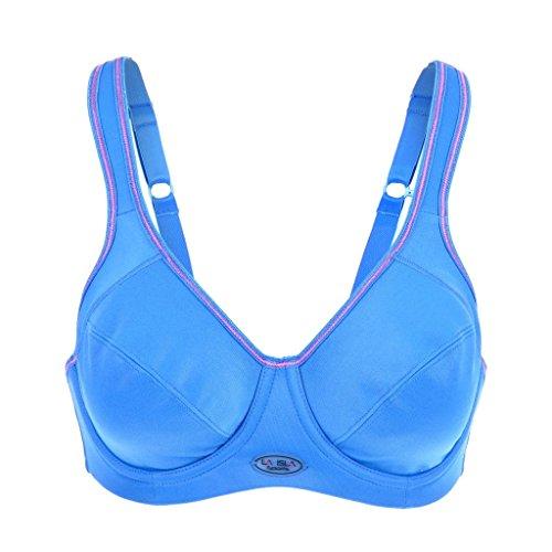 La Isla Femme Level 3 Active Soutien Gorge De Sport avec Armature Bleu