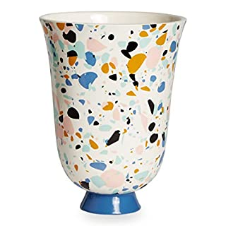 Now House by Jonathan Adler Terrazzo Classical Urn, Multicolored, 10.25