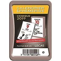 Lecas 400069569 - Bloc Calendrier Humouristiques - 6x9 cm - 2019