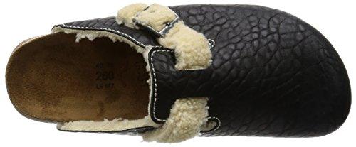 BIRKIS Birkenstock Boston 937313Pantolette Sandalen Schuhe Pflanze Enge Schwarz