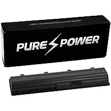 PURE⚡POWER® Batería del ordenador portátil para HP Pavilion DV3-4130ss (10.8V, 4400 mAh, negro, 6 celdas)