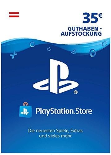 Produktbild PSN Card-Aufstockung / 35 EUR / österreichisches Konto / PSN Download Code