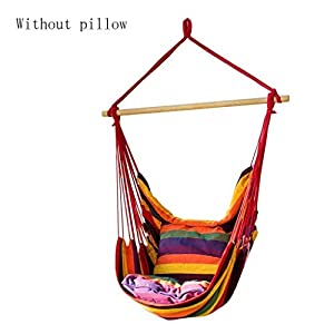 Hängesessel und stuhl, Leinwand hängematte schaukel sessel, indoor/outdoor 150 KG kapazität