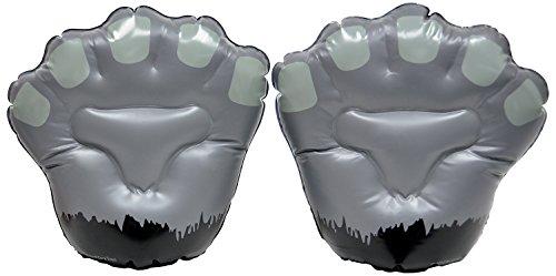 Ani-Maulz Giant Inflatable Animal Mitts - Gorilla