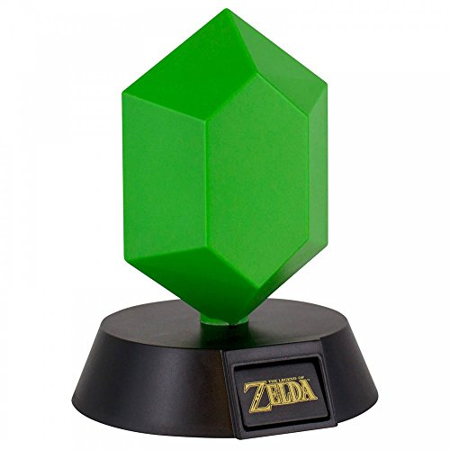 The Legend of Zelda Rupee - Tischlampe von Nintendo | Original Nintendo Merchandise