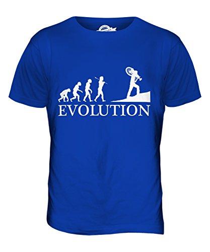 CandyMix Querfeldeinrennen Querfeldein Evolution Des Menschen Herren T Shirt Königsblau