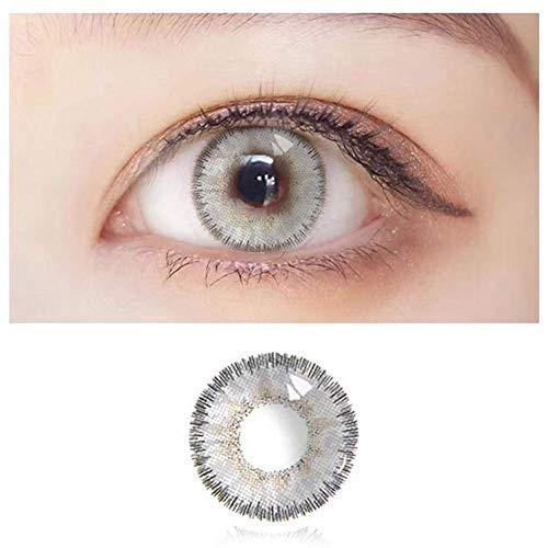 Bulary Natural Kontaktlinsen 2 Stück Jährliche Farblinse Modische Kontaktlinsen