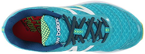 New Balance W980 B V2, Chaussures de course femme Multicolore (bb2 Teal/yellow)