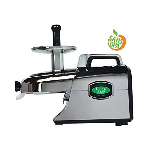 Extracteur de jus GreenStar Elite Chromé 5050