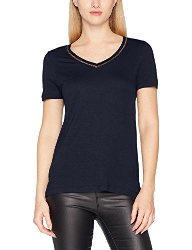 VERO MODA Damen T-Shirt Vmsporta Glitter SS Top JRS, Blau (Navy Blazer Detail: Lurex), 36  Preisvergleich