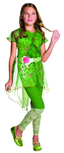 Rubies 3620715 - DC Super Hero Girls Poison Ivy Deluxe Kinderkostüm