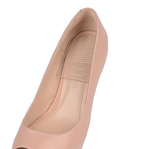 ELEFT chaussures Coussins gel de silicone talon haut semelles antidérapantes Chaussures Foot Care Pad